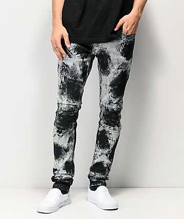 Crysp Denim Montana Splotchy Acid Denim Jeans