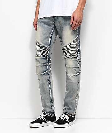 Crysp Denim Skywalker jeans lavado de piedra