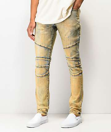 Crysp Montana Dirty Wash Denim Jeans
