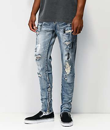 Crysp Pacific Spring Washed Denim Jeans