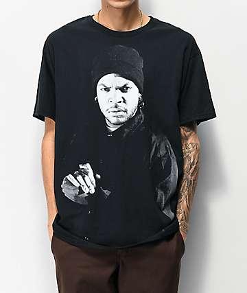 Cube Close Up Black T-Shirt