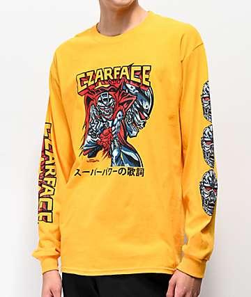 Czarface Comic camiseta amarilla de manga larga