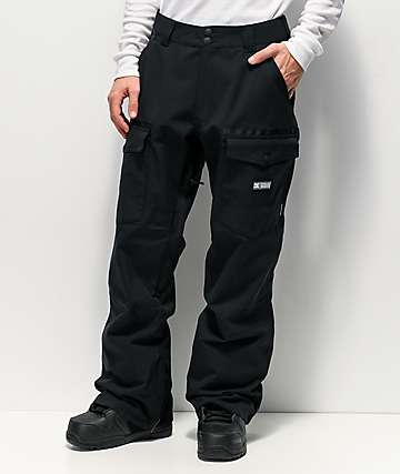 DC Code Black 15K Snowboard Pants