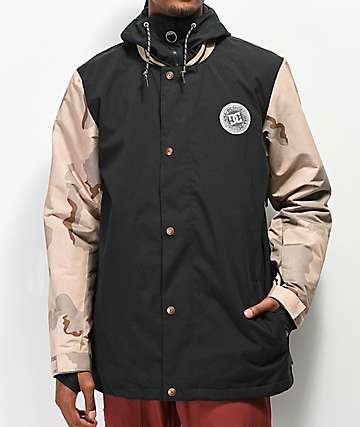 DC DCLA Incense Camo 10K Snowboard Jacket