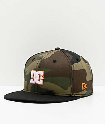 DC Empire Fielder Camo Snapback Hat