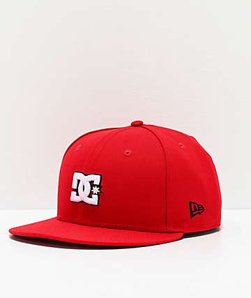 DC Empire Fielder Red Snapback Hat
