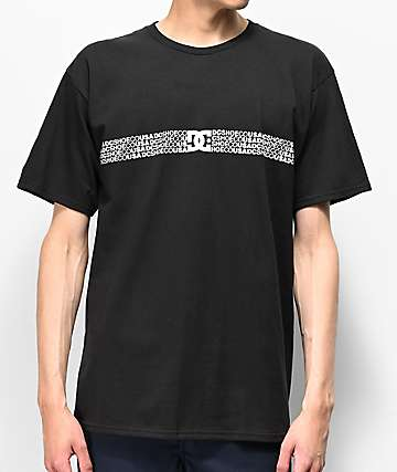 DC Fade Away Black T-Shirt