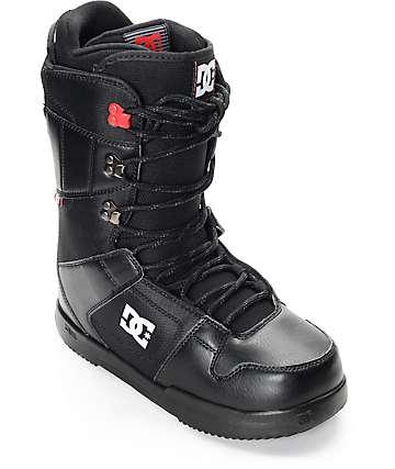 DC Phase botas negras de snowboard