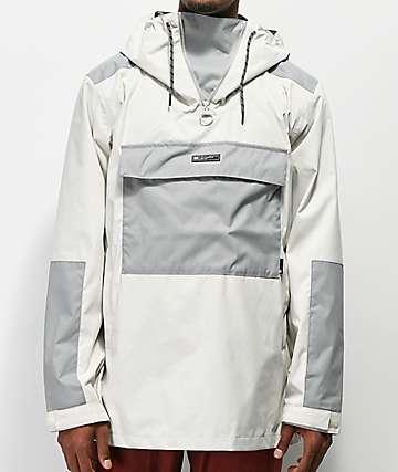 DC Rampart Silver Anorak Jacket