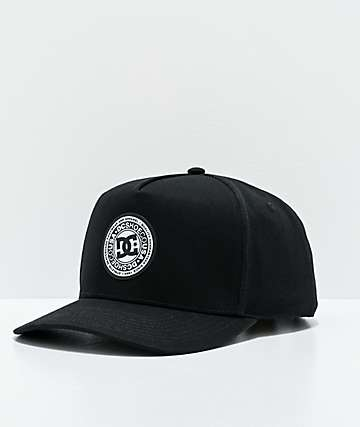 DC Reynotts Black & White Snapback Hat