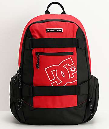 DC The Breed Red Backpack