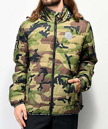DC Tintern Camo Puffer Jacket