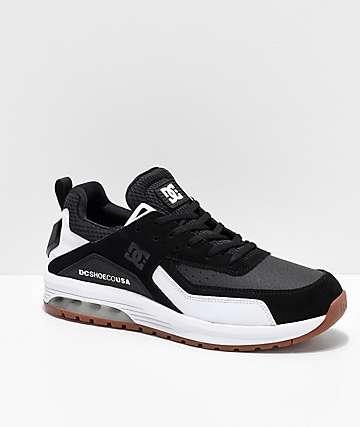DC Vandium SE Black & White Shoes