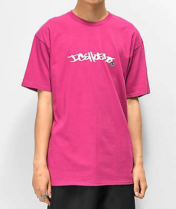 DC Waxed Purple T-Shirt