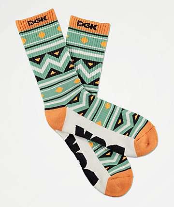 DGK Aztech Crew Socks