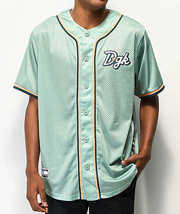 DGK Aztech Mint Baseball Jersey