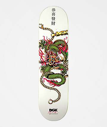 DGK PROSPERITY STICKER Dirty Ghetto Kids 2.5 in x 5 in Skateboard Decal