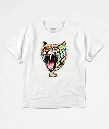 DGK Boys Hunger White T-Shirt