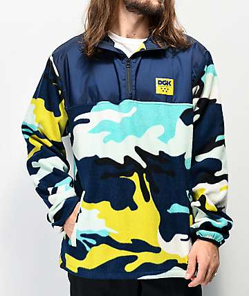 DGK Chili Arctic Camo Tech Fleece Jacket