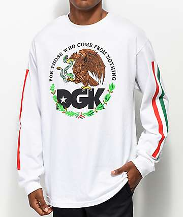DGK Familia White Long Sleeve T-Shirt