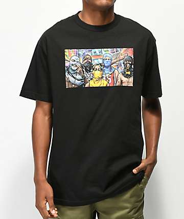 DGK Favela Black T-Shirt