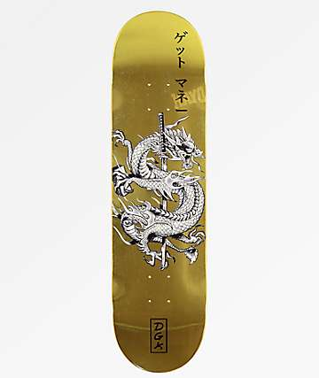 "DGK Get Money 8.25"" Skateboard Deck"