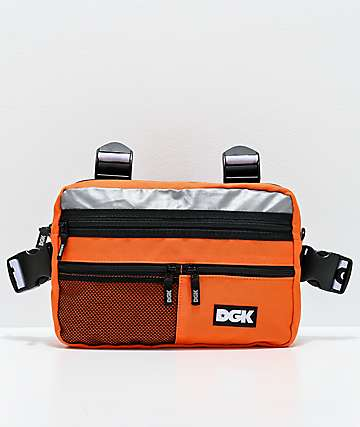DGK Hazardous Orange Chest Bag