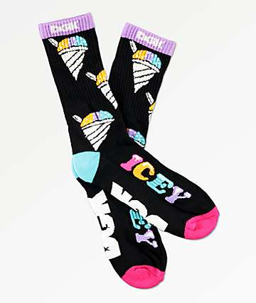 DGK Icey Multi-Colored Crew Socks