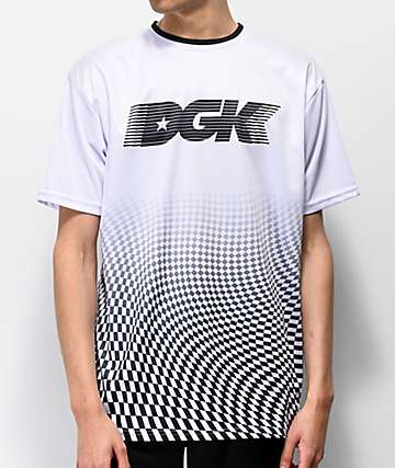 DGK Illusion White Soccer Jersey