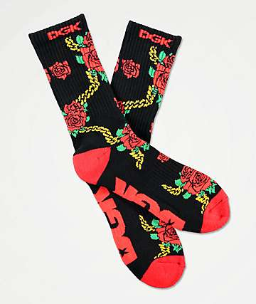 DGK Lavish Black Crew Socks