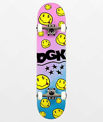 "DGK Money Smile 7.75"" Skateboard Complete"