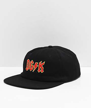 DGK Noise Black Strapback Hat