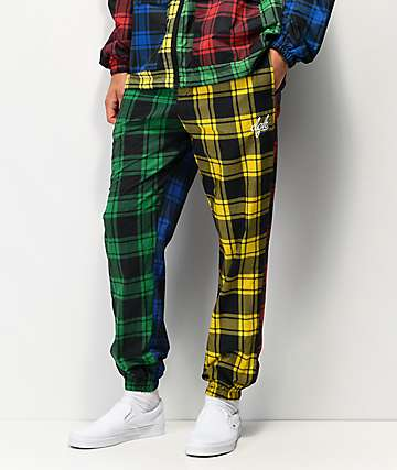 DGK Plaid Mismatch Pajama Pants