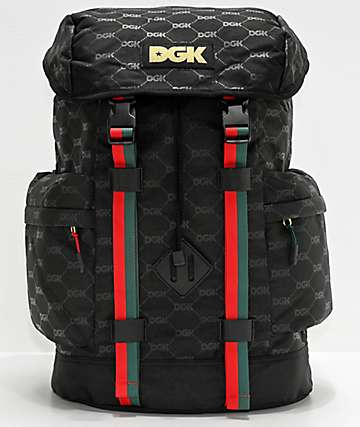 DGK Primo Black Backpack