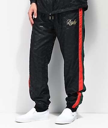 DGK Primo Black Track Pants