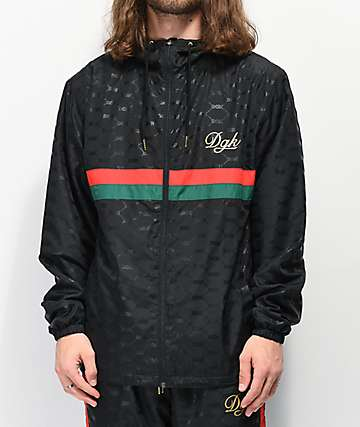 DGK Primo Black Windbreaker Jacket