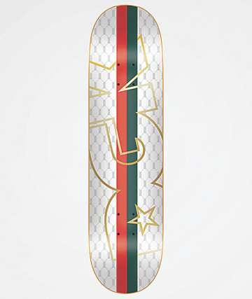 "DGK Primo White 8.0"" Skateboard Deck"