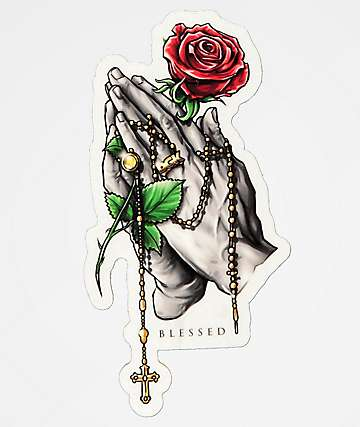 DGK Rosary Sticker