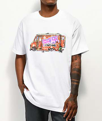 DGK Street Candy White T-Shirt