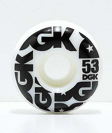 DGK Street Formula 53mm 101a Skateboard Wheels
