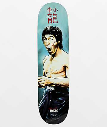"DGK x Bruce Lee Focused 8.06"" Skateboard Deck"