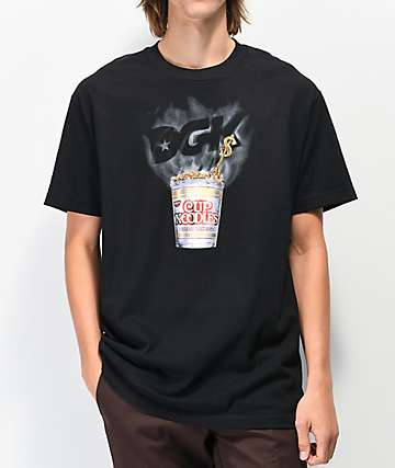 DGK x Cup Noodles Heat Black T-Shirt