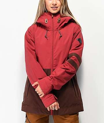 Dakine Juniper Garnet Rust 10K Snowboard Jacket