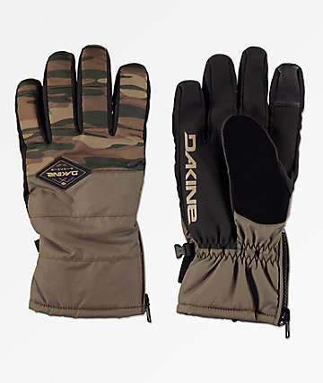 Dakine Omega Field guantes de snowboard de camuflaje