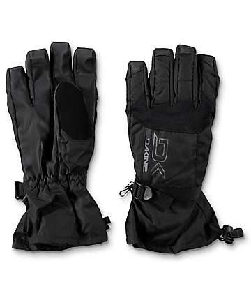 Dakine Scout Black Snowboard Gloves 2018