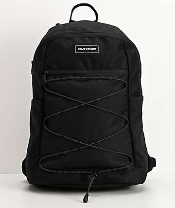 Dakine WNDR Black Backpack
