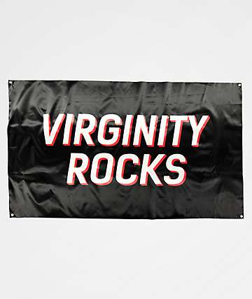 Danny Duncan Virginity Rocks Black Banner