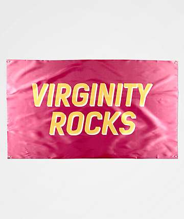 Danny Duncan Virginity Rocks Maroon Banner