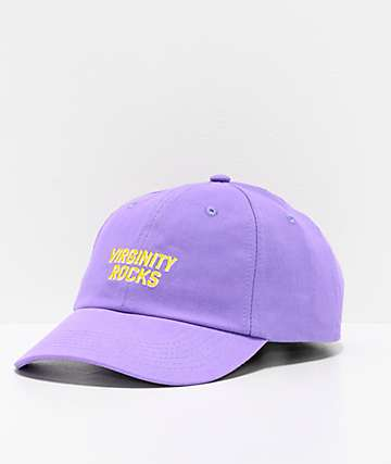 Danny Duncan Virginity Rocks Purple Strapback Hat