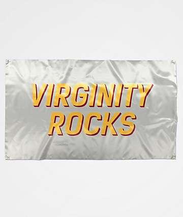 Danny Duncan Virginity Rocks White Banner
